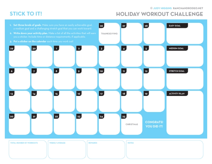 HolidayWorkoutChallenge